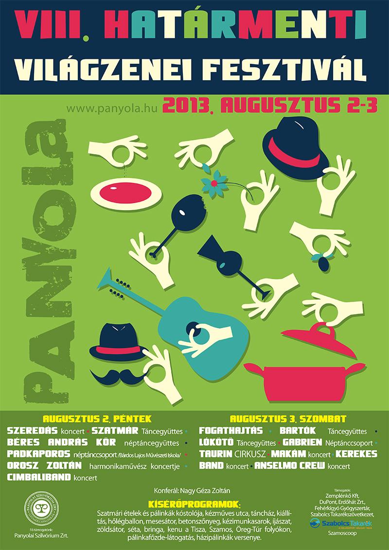 VIII. Határmenti Világzenei Fesztivál augusztus 2-3. Panyola